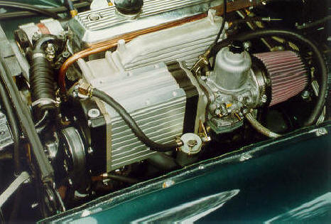HP MG B Supercharger Image copyright (c) 2011.