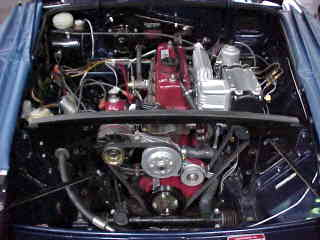 HP Supercharger Kit fitted to MG B GT Image copyright (c) 2011.