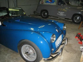 HP Supercharged Triumph TR3 Image copyright (c) 2011.