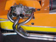 HP Hi-Flow Headers for Race BMC engines Image copyright (c) 2011.