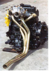 HP Hi-Flow Headers for Race Mini engines Image copyright (c) 2011.