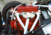 HP Hi-Flow Headers for Race MG Midget engines Image copyright (c) 2011.